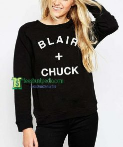 Blair and Chuck Unisex Adult Sweatshirt Maker cheap