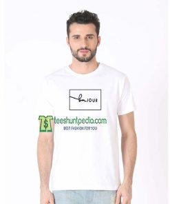 Bonjour Logo Unisex Adult T shirt Size XS-3XL Maker cheap