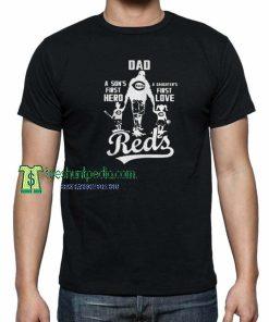 Dad a Sons First Hero T shirt Size XS-3XL Maker cheap