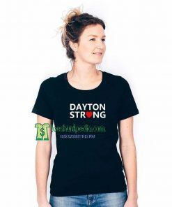 Dayton Strong Unisex T Shirt Size XS-3XL Maker cheap