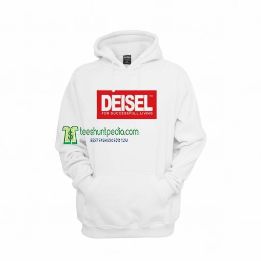 Deisel Diesel Hoodie For Succesfull Living Maker cheap