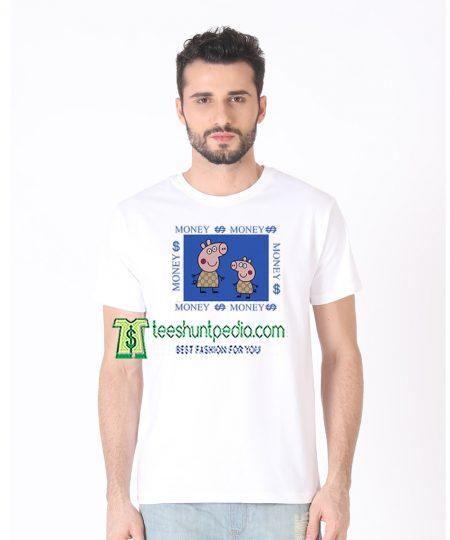 Gacci Peppa Pig Money Money T-shirt Size XS-2XL Maker cheap