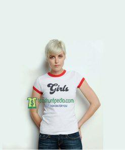 Girls Unisex Adult TShirt For Women Size XS-3XL Maker cheap