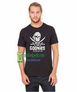 The Goonies Movie, Goonies Never Say Die TShirt Maker cheap