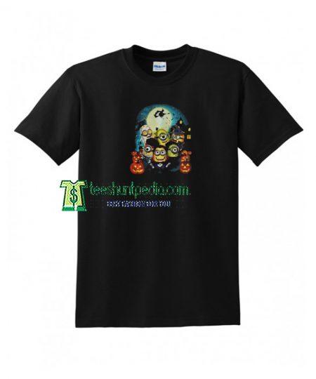 Halloween Minions Pumpkin Unisex T shirt Maker cheap
