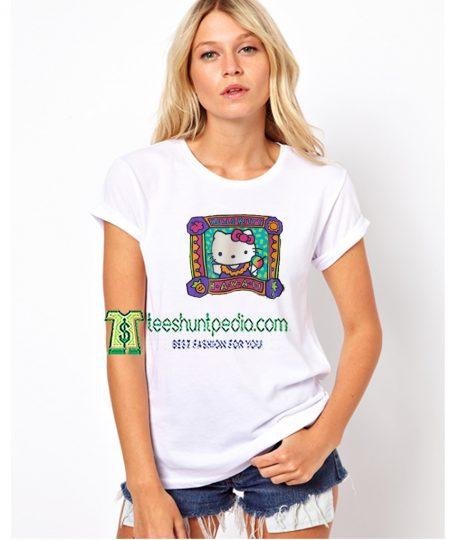 Hello Kitty Hawaii Unisex TShirt Size XS-3XL Maker cheap