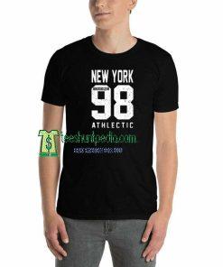 New York Brooklyn Athlectic Unisex adult T shirt Maker cheap
