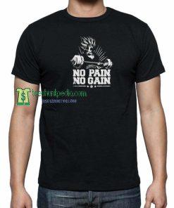 No Pain no Gain Unisex T shirt Size XS-3XL Maker cheap
