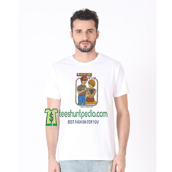 Rainy Day Fun Home Tattoo Kit Unisex Adult T shirt Maker cheap