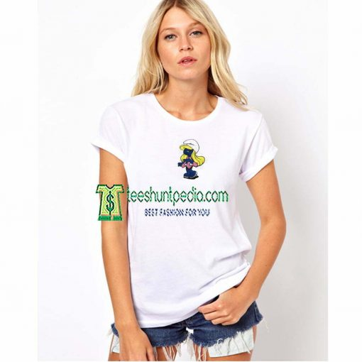 Smurfette Unisex adult T shirt Size XS-3XL Maker cheap