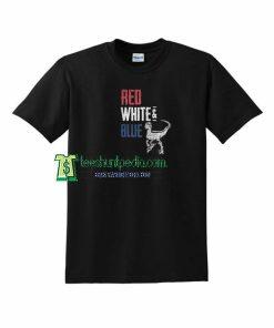 T-Rex Red White and Blue T shirt Size XS-3XL Maker cheap