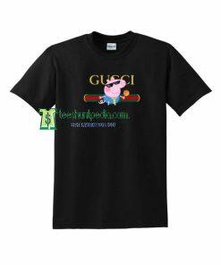 Thug Life Peppa Pig Gucci Parody T Shirt Maker cheap