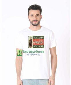 Vintage Coca-Cola Bottle T-Shirt Size XS-2XL Maker cheap