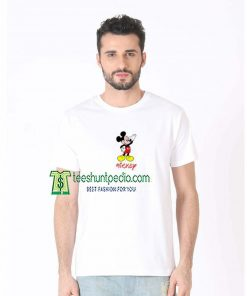 Walt Disney Mickey Mouse T-shirt For Men's Or Women's Size XS-3XL Maker cheap