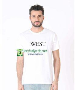 West T-shirt Unisex For Men's Or Women's Size XS-3XL Maker cheap