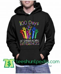 100 Days Of Embracing Differences Hoodie