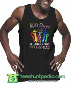 100 Days Of Embracing Differences Unisex Tank Top