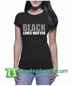 Black Lives Matter WOMEN TSHIRT Vintage Letters Tee Shirt, Size XS-3XL Maker cheap
