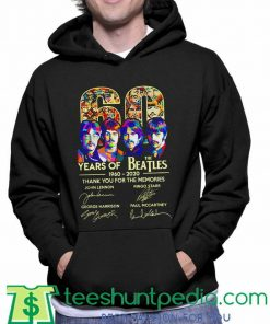 The Beatles thank you for the memories Hoodie