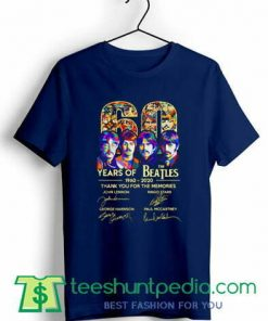 The Beatles for the memories T shirt