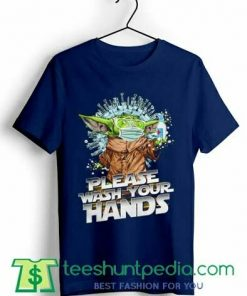 Baby Yoda Please wash your hands T shirt