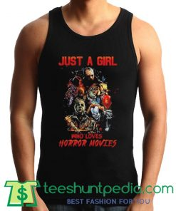 Who Loves Horror Movies Tank Top