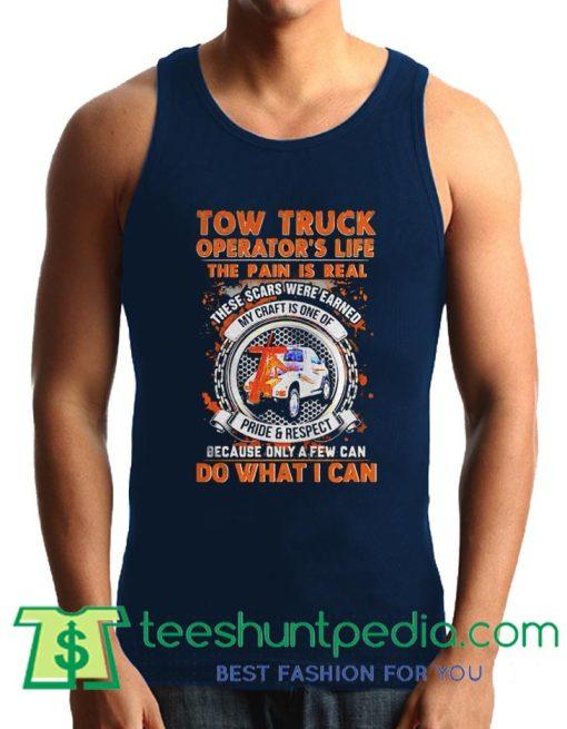 Tow truck operators Tank Top