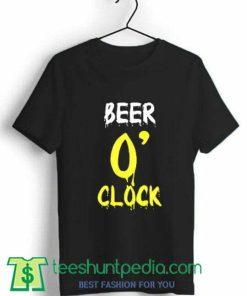 Beer O'clock Unisex T Shirt