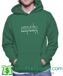 Empathy Green Hoodie Maker cheap