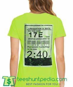 Lirequation Of Math Unisex T Shirt