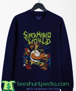 Send in the Clown Super Mario Gaming Parody Sweatshirt