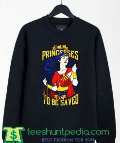 Wonder Woman Princess Cool Graphic Sweatshirt By Teeshunpedia.com