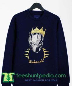 Black Panther King Wakanda Sweatshirt By Teeshunpedia.com