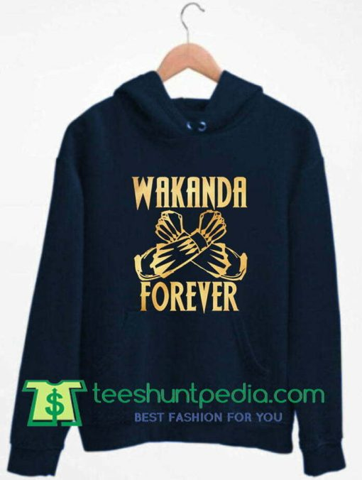 Wakanda Forever Black Panther Hoodie