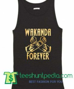 Wakanda Forever Black Panther Tank Top