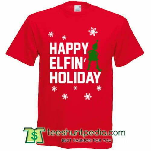 Ariana Grande Elfin Holiday T shirt