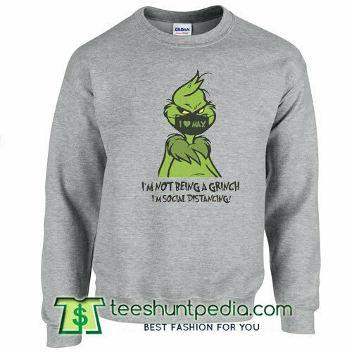 Funny Grinch Christmas Sweatshirt
